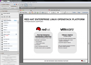 vmare and redhat