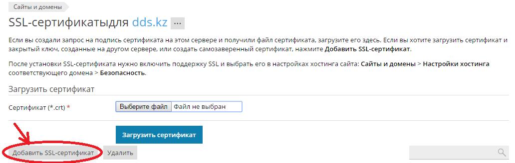 SSL-Plesk